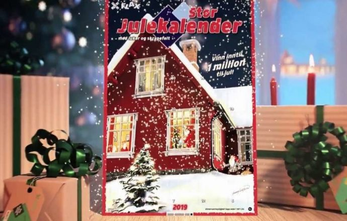 Er Flaxkalender den beste julekalender online 2020